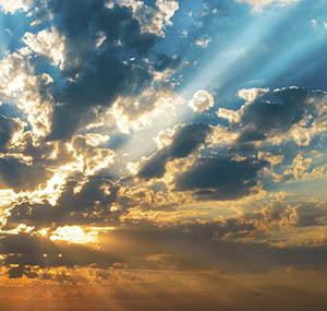 Ispirazione boreale decorazione cielo luminoso