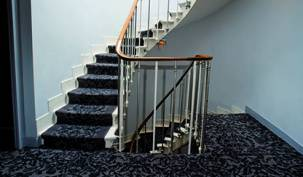 Conseils je pose hotel moquette escaliers