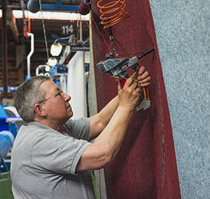Impronta balsan eco design dei prodotti fili riciclati