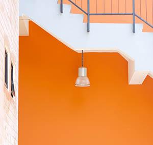 Ispirazione colori decorazione arancione